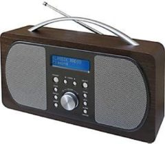 Soundmaster DAB+/UKW-Digitalradio DAB 600, 2 Lautsprecher, 20 Festsenderspeicher