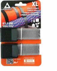 Zwarte Stayhold Utility Strap XL- 6ft/1.8mx30mm