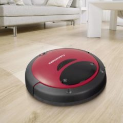 Clean Maxx Cleanmaxx 09860 Robotstofzuiger Rood/Zwart