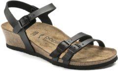 Birkenstock Papillio Lana sandalen met sleehak zwart - Maat 41