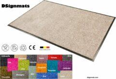 """Zandkleurige Smophy Home Wash & Clean vloerkleed / entree mat, droogloop, ook voor professioneel gebruik, kleur """"Sand"""" machine wasbaar 30°, 150 cm x 90 cm."""