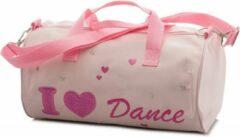 Katz Roze ballettas schoudertas met I Love Dance