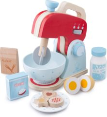 Rode New Classic Toys - Speelgoed Mixer - Inclusief Accessoires - Rood