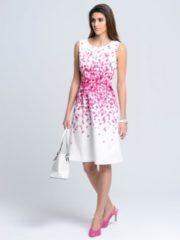 Rosa Kleid Alba Moda Weiß/Pink