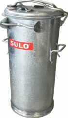 Sulo Staalverzinkte afvalemmer 50 liter met beugel