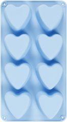 Creativ company Silicone vormen, gatgrootte 70x60 mm, 100 ml, 1 stuk, lichtblauw