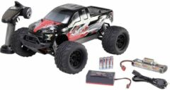 Rode Reely NEW1 1:10 Brushed RC auto Elektro Monstertruck 4WD 100% RTR 2,4 GHz Incl. accu, oplader en batterijen voor de zender