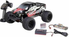 Rode Reely NEW1 1:10 Brushed RC auto Elektro Monstertruck 4WD 100% RTR 2,4 GHz Incl. accu, oplader en batterijen voor de zender