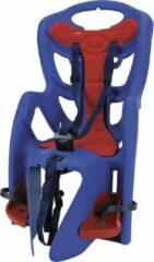 Rode Bellelli Pepe - Fietsstoeltje achter - blauw clamp