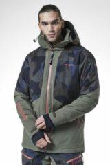 Blauwe Tenson - Heren Ski jas - Brant - Blue - Maat L
