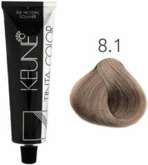 Keune - Tinta Color - 8.1 Licht Asblond - 60 ml