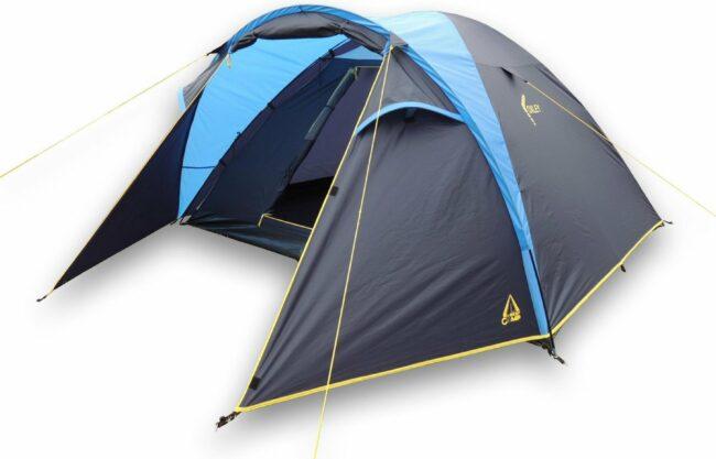 Afbeelding van Best Camp Oxley Koepeltent - 4-persoons - Blauw