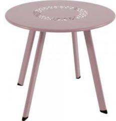 Lesli Living bijzettafel Dali roze 40x35cm