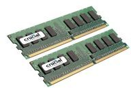Crucial DDR2 - 4 GB: 2 x 2 GB - DIMM 240-PIN CT2KIT25664AA800
