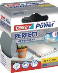 Tesa tesa Extra Power Textieltape Grijs (l x b) 2.75 m x 38 mm Rubber Inhoud: 1 rollen