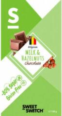 Sweet-Switch Chocolade Melk Hazelnoot 100 gr