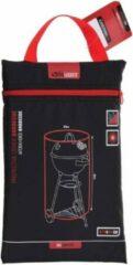 Pro Garden Afdekhoes BBQ - Rond - 70 x 80 cm - Barbecue hoes - Afdekhoes kogelbarbecue - Zwart