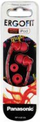 Panasonic RP-HJE125E-R hoofdtelefoon/headset Hoofdtelefoons In-ear Rood