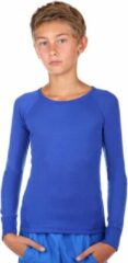 Thermo4sports Thermoshirt kind koningsblauw unisex