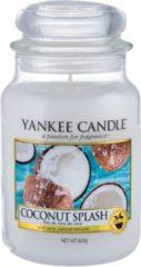 Witte Yankee Candle Large Jar Geurkaars - Coconut Splash