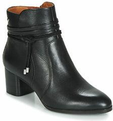 Zwarte Boots en enkellaarsjes Calafat W1Z-8635 by Pikolinos