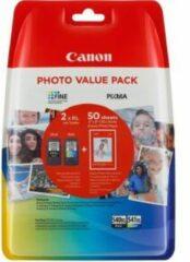 Canon PG-540XL/CL-541XL-kleureninktcartridge met groot volume en fotopapier (Value Pack)