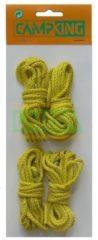 Gele Umefa Campking Fluorecerende Nylon Scheerlijn - 3 mm x 3 m - 4 stuks