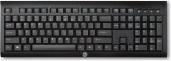 Zwarte HP Wireless Keyboard K2500