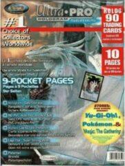 Zilveren Ultrapro 9-Pocket Insteekhoes Voor Yu-Gi-Oh! Pokemon en Magic The Gathering Kaarten (10 paginas)