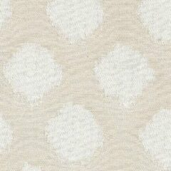 Creme witte Acrisol Hilas Canela 121 creme, wit gestipt stof per meter buitenstoffen, tuinkussens, palletkussens