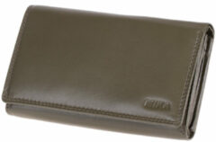 Transparante Juscha JU-42167 Portefeuille Mika Taupe RFID Dame 20x11,5x5cm
