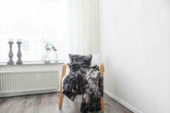 Zwarte Heckettlane HnL Living Grove - Kussenhoes - 45 x 45 - Black