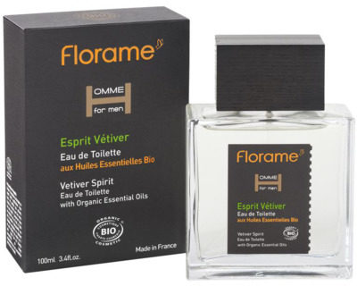 Afbeelding van Florame Man Eau De Toilette Esprit Vetiver Bio (100ml)