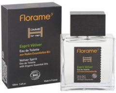 Florame Man Eau De Toilette Esprit Vetiver Bio (100ml)