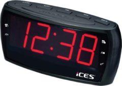 Ices Electronics Ices ICR-230 Wekkerradio - Zwart