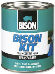Bison kit contactlijm transparant - 750 ml.