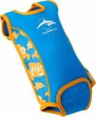 Blauwe Konfidence Zwembadpakje Babywarma Clownfish Maat 12-24 Maanden