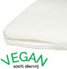Witte Vegan Slapen Vegan - 120x200 Topmatras - Traagschuim lichaamsvormend
