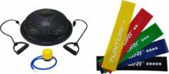 Tunturi - Fitness Set - Balanstrainer - Balance Trainer & 5 Weerstandsbanden