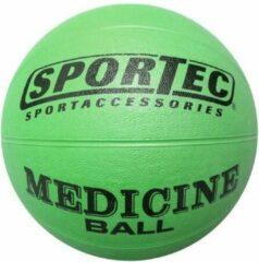 Sportec Medicine Bal Rubber 3 Kg Groen