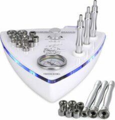 Witte Konmison Microdermabrasie Diamant Two - Microdermabrasie Professioneel - huidverjongingsapparaat - microdermabrasie apparaat gezicht