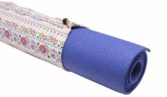 #DoYourYoga - Kleine yogatas - »Rukmini« - yoga, fitness, gymnastiek - L 67 x 13 cm - Roze design