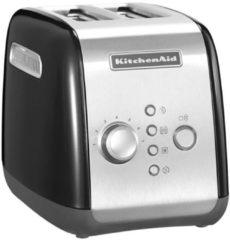 Rode KitchenAid 5KMT221 2snede(n) 1100W Zwart broodrooster