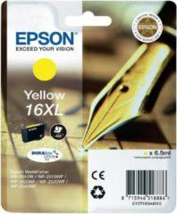 Gele Epson 16XL (T1634) - Inktcartridge / Geel / Hoge Capaciteit