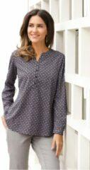 Grijze Classic Basics lange blouse