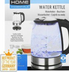 Home Essentials glazen waterkoker - 1,7 liter - Beste product 2019/2020