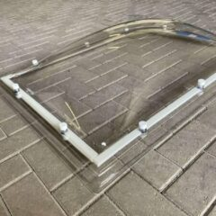 Merkloos / Sans marque Lichtkoepel plexiglas helder 60x90 cm dubbelwandig