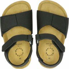 Antraciet-grijze Nelson Kids sandalen antraciet
