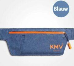 KMV Heuptas - Running belt - Heuptasje - Hardloop - Sport heuptas - Unisex - Blauw