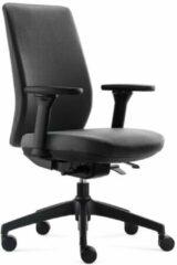 Antraciet-grijze BenS 918-Synchro-4 antraciet Luxe ergonomische bureaustoel Arbo Stoffen bekleding Volledig instelbaar